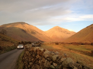 Wasdale Head - Kirkfell & Great Gable
