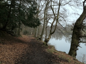 Path beside the Dee