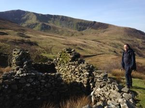 High in cwm Afon Tal-y-mignedd