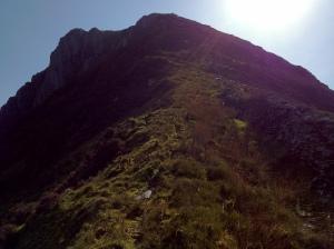 The North-east ridge of Y Garn