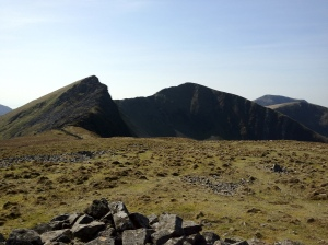 The Nantlle Ridge, from Y Garn