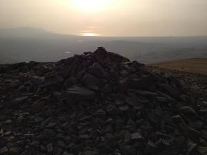 Mynydd Mawr summit