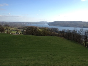 Windermere, from the Troutbeck-Ambleside track