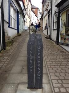Glyndwr's Way starting point